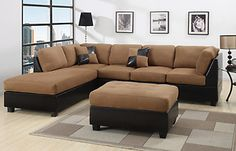 Sectional Sectionals Sofa Couch Loveseat Couches with FREE OTTOMAN $446.99 #eBay