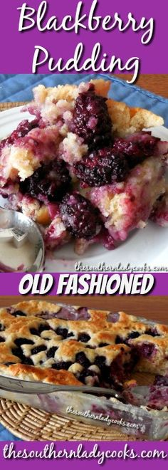 Blackberry Pudding will become one of your favorite recipes to make and serve with whipped cream or ice cream. Serve this blackberry pudding to your family and guests for a great dessert and you won't …