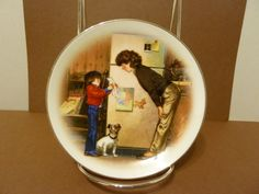"""Avon Collectible Plate, Special Memories by: Tom Newsom, Titled """"Creation of Love"""" by BjsDoDads on Etsy"""