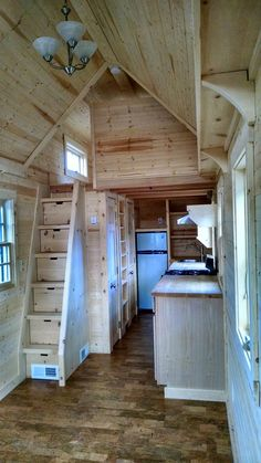 I Love this tiny house. It has good use of space. Fy Nyth...: Final photos from the builders - Interior