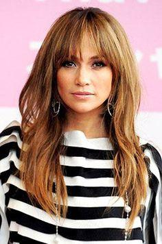 JLO. i like her hair & bangs