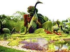 montreal botanical gardens mosaic giants | ... at the Botanical Gardens and Planetarium - Tourisme Montréal Blog