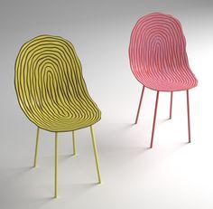 Tropical Chair - jens boldt  http://www.beckmans.se/jens-boldt/?portfolio=1#