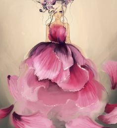 Ilustração de moda by Moie Preisenberger