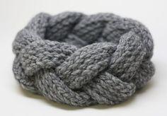 un bandeau tricoter v tements bandeaux tricots et tricot bandeau. Black Bedroom Furniture Sets. Home Design Ideas