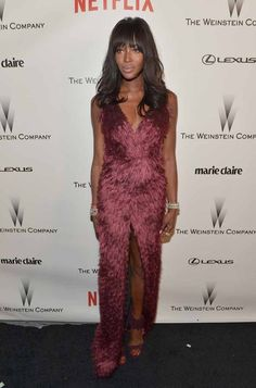 2015 -Naomi Campbell | All The Looks From The Golden Globes After-Parties