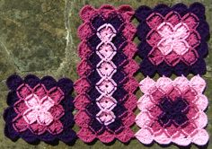 bavarian crochet | Bavarian Crochet Throw - In Progress...
