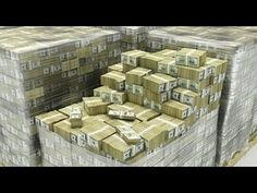 205 million Stacks of money - YouTube