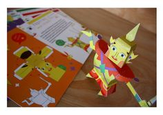 The Ramayana paper toy on Behance