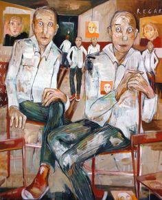 tableau : REGARDS par ELISA COSSONNET - Portraits / Nus en Portraits / Nudes,Scènes de vie en  Scenes of life - DF40316RE044
