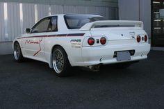 MINES Legendary R32 Skyline GT-R Nissan Skyline Gtr R32, R32 Skyline, R32 Gtr, Nissan R35, Japanese Sports Cars, Japanese Cars, Tuner Cars, Jdm Cars, Import Cars