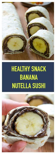 Easy and healthy snack! Nutella Brownies, Healthy Foods To Eat, Healthy Snacks, Healthy Recipes, Delicious Recipes, Sushi, Make Hummus, Whole Foods Market, Food Safety