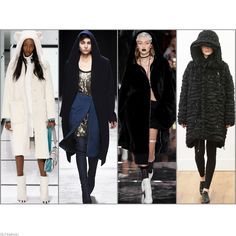 1990′s style casual hoodie is On Trend for FW 2016: Hooded Coat. Anya Hindmarch, Lutz Huelle, Fenty x Puma, and Noir Kei Ninomiya Fall Winter 2016.