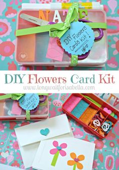 Fun Crafts for Kids: A DIY Trolls Flowers Cards Kit | #BringHomeHappy #TrollsFHEInsiders ad