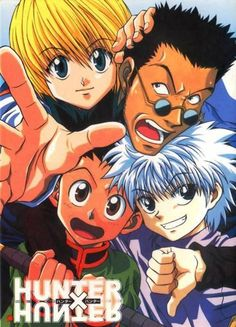Gon, Killua, Kurapika, and Leorio         ~Hunter X Hunter