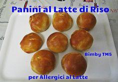 Panini al Latte di Riso per Allergici al Latte Bimby TM5