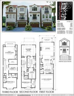 Townhouse Plan E1183 A1.2