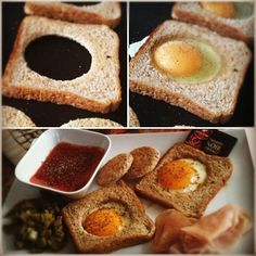 PopEyes' toast and eggs !