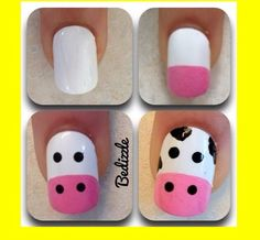 Cow nails! Looks like something I will be doing this summer!