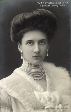 Princess Mathilde of Bavaria, Princess of Saxe-Coburg-Gotha