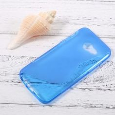 Samsung Galaxy A3 2017 sininen silikonisuojus. A3, Samsung Galaxy