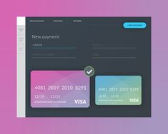 Nice Payment Form UI Template Free PSD. Download Payment Form UI Template Free PSD. A nice and simple payment form ui design psd made for a banking application. It has a dark ui design and uses vibrant colors along with other element such as credit card for making this payment form ui more appealing design. Feel free to use it in you upcoming eCommerce shopping website or payment gateway website ui projects. hope you like it. Enjoy!