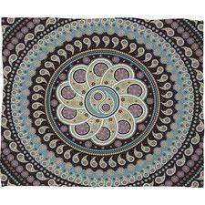 Belle13 Mandala Paisley Throw Blanket