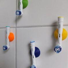 Zahnbürstenhalter für elektrische Oral-B Aufsteckköpfe