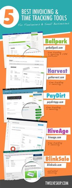 Rent Invoice Template Excel Free Small Business Labor Invoices  Free Invoice Template  Invoice Form Online Excel with Recipient Created Tax Invoice Agreement Word  Awesome Invoicing  Time Tracking Tools For Freelancers  Small Businesses Restaurant Receipt Maker Excel