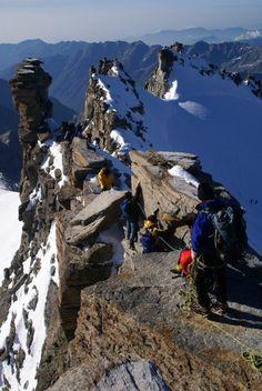 Grand Paradiso summit 2009 Italy