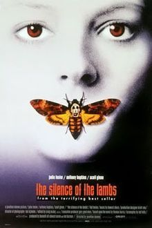 The Silence of the Lambs - Oscar-winning adaptation of Thomas Harris' crime novel starring Jodie Foster & Anthony Hopkins as Dr Hannibal Lecter. Iconic Movie Posters, Horror Movie Posters, Iconic Movies, Horror Movies, Comedy Movies, Latest Movies, Suspense Movies, Famous Movies, Classic Movies