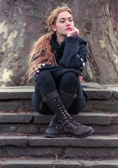 kate winslet and some awesome boots
