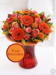 Flower Delivery Ireland and Dublin from Flowers. Send flowers with Flowers. Send Flowers, Flower Delivery, Cork, Floral Wreath, Vase, Wreaths, Autumn, Table Decorations, Birthday