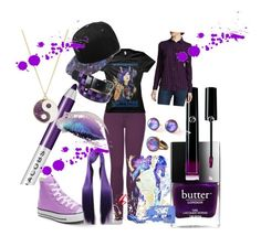"""""""purple"""" by mytwistedtomorrow ❤ liked on Polyvore featuring art"""