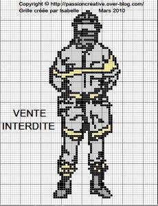 Pixel Art Pompier Facile