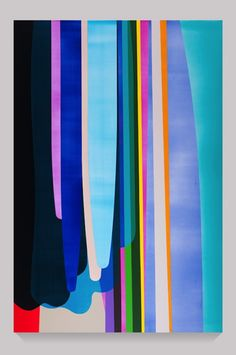 ETC INSPIRATION BLOG BRIGHT PAINTINGS DION JOHNSON VERTICAL DRIPPING SHAPES ACRYLIC ON CANVAS ART 1 photo ETCINSPIRATIONBLOGBRIGHTPAINTINGSDIONJOHNSON1.jpg