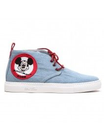 Men's Del Toro x Disney Denim Mickey Mouse Club Alto Chukka Sneaker