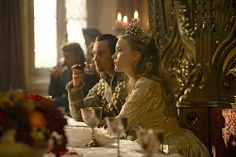 Still of Jonathan Rhys Meyers and Tamzin Merchant in The Tudors