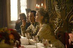 Still of Jonathan Rhys Meyers and Tamzin Merchant in The Tudors