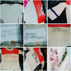 OMG! Thanks for everyone  100 thank u so much.  Its a basic Harley Quinn tshirt tutorial. And the last photo's my Harley Quinn makeup. I hope u like it  #harleyquinn #harleyquinncosplay #harleyquinntutorial #tshirttutorial #harleyquinncosplayer #harleyquinnmakeup #suicidesquad #suicidesquadharleyquinn #suicidesquadharley #suicidesquadharleycosplay #cosplay #cosplayer #cosplaymakeup #makeup #howcani #tutorial #cosplaytutorial