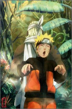 Naruto rapping with Killer Bee! lol