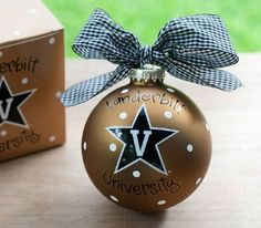 Amazon.com: Vanderbilt University Logo Ornament: Home & Kitchen