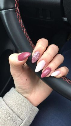 "If you're unfamiliar with nail trends and you hear the words ""coffin nails,"" what comes to mind? It's not nails with coffins drawn on them. It's long nails with a square tip, and the look has. Gorgeous Nails, Love Nails, Cute Acrylic Nails, Pink Shellac Nails, Almond Nails Pink, Baby Pink Nails, Cute Pink Nails, Pink Manicure, White Nails"