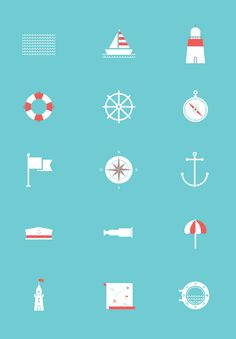 Sea Icon Set