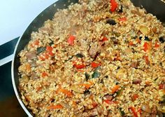 Nasi Goreng, Meat Recipes, Vegetarian Recipes, Healthy Recipes, No Cook Meals, Fried Rice, Paleo, Food And Drink, Easy Meals
