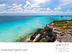 VIAJES DE LUNA DE MIEL. La leyenda cuenta que los dioses mayas cuidan el Mar Caribe, desde la Punta Sur de Isla Mujeres. En Booking Hello, te invitamos a disfrutar tu luna de miel con uno de nuestros packs all inclusive a las playas de Cancún y sus alrededores, para que tú y tu pareja combinen días de relajación con paseos llenos de historia y misticismo que caracterizan a este destino. #lunademielenelcaribe