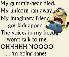 Hilarious Memes Funny Minion Happy New Year Quotes Funny Minion Pictures, Funny Minion Memes, Minions Quotes, Funny Jokes, Minion Humor, Minions Images, Heros Comics, Best Quotes, Life Quotes