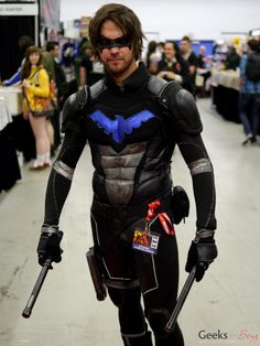Jared Padalecki as Nightwing? I don't know - He's looking pretty darn hot right here . . .