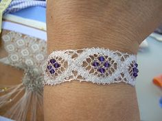 "Bobbin Lacemakers Association ""Ibn al Baytar"" BRACELET PATTERN"
