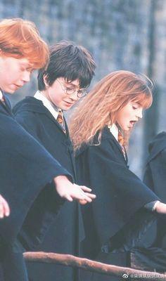 Estilo Harry Potter, Mundo Harry Potter, Harry James Potter, Harry Potter Hermione, Harry Potter Characters, Harry Potter World, Hermione Granger, Ron Weasley, Harry And Hermione